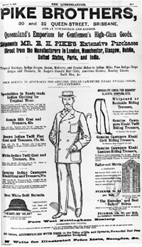 Page from Pike Brothers catalogue
